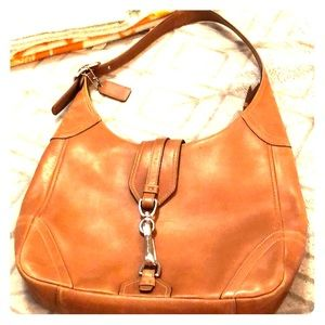 Leather Coach Purse... Used ONCE